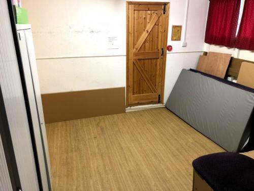Chair storage/leaders room 2