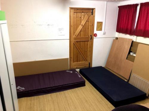 chair storage/leaders room